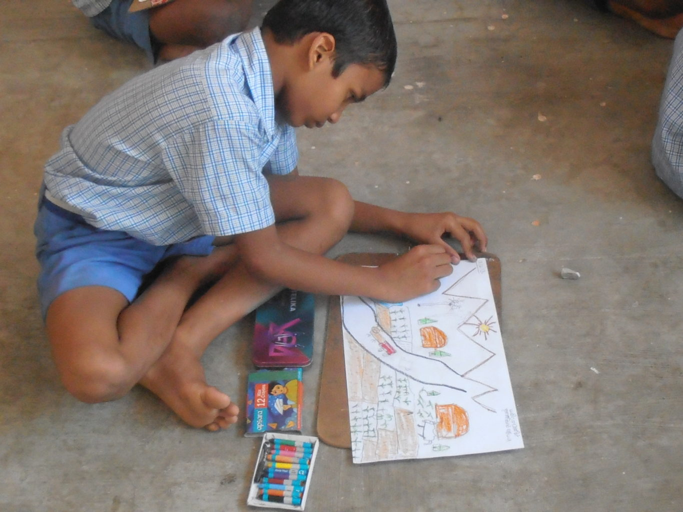 paventharpalli drawing competition