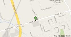 finch avenue map