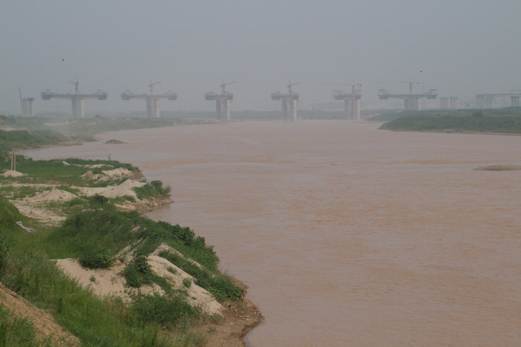 Wei River meets the Yellow River