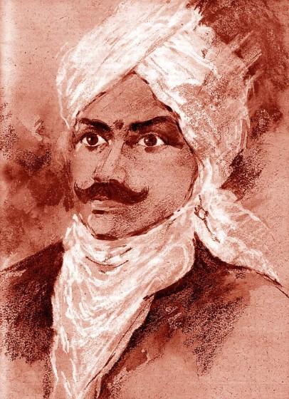 Portrait of Bharathi