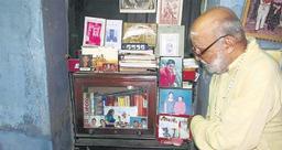 பாரதி அத்தைவழிப்பேரன்  கே.வி.கிருட்டிணன்