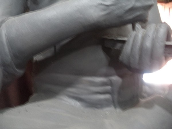 வேட்டி மடிப்பு - இடுப்புப்பகுதியும் பிற பகுதியும்