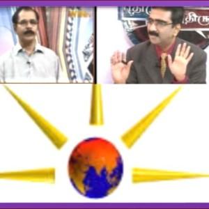 'எதிரும் புதிரும்': வெள்ள அரசியல் குறித்து இலக்குவனார் திருவள்ளுவன்