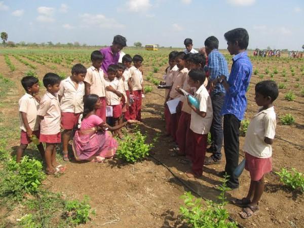 மாணிக்கவாசகர் பள்ளி, வேளாண்கல்லூரி களப்பணி03 :manickavasagampalli_agricollege03
