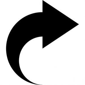 மேல்நோக்கு வளைகுறி :arrow-pointing-to-right