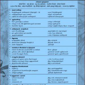 கவிதை உறவு -சிறந்த நூல்களுக்கான பரிசுகள் பெறும் படைப்பாளர்களின் பட்டியல்