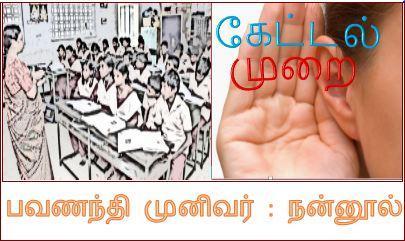 தலைப்பு-கேட்டல் முறை :thalaippu_kettalmurai