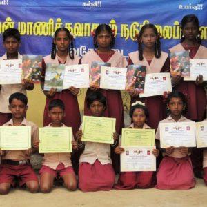 மாணிக்கவாசகம் பள்ளி : அறிவியல் இயக்கப் போட்டிகளில் பங்கேற்றவர்களுக்குப் பாராட்டு