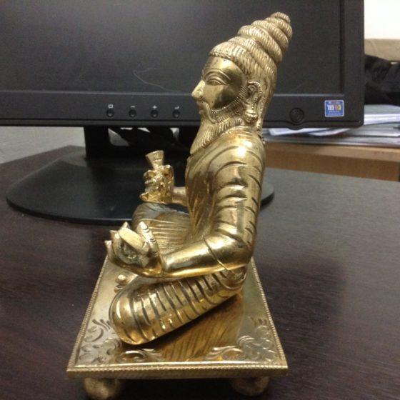 பூம்புகார்-திருவள்ளுவர் சிற்பம்02 ; puumpukaar_thiruvalluvar02