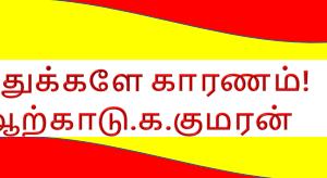 இந்துக்களே காரணம்! – ஆற்காடு.க.குமரன்